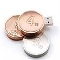 Picture of Coin Shaped USB Flash Drive