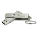 Picture of Metallic  Twister USB flash drive
