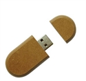 Picture of Recycled Paper USB - Yew Round