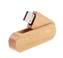 Picture of Swivel Wooden USB Drive