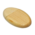 Picture of Oval Wooden USB Drive