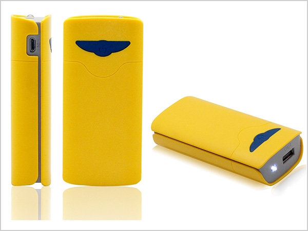 Picture of Butterfly Portable Power Bank Charger 5200mAh