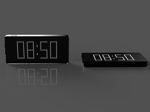 Picture of Slim Clock Power Bank Charger 8000mAh